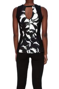 Zanzi Geo Print Top - Alternate List Image