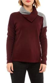 Shoptiques Product: Shawl Collar Pullover