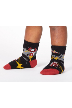 Sock it to me Zap! Zap! Toddler Crew Sock - Product List Image