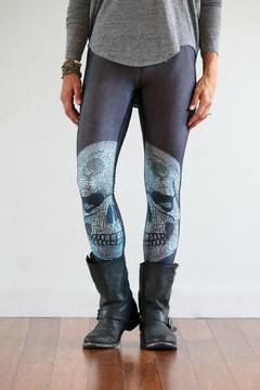 Shoptiques Product: Crystal-Skull Performance Leggings