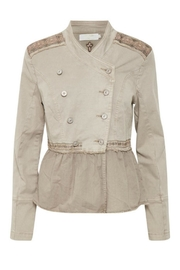 Cream Zarah Jacket - Product Mini Image
