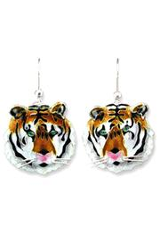 Zarah Tiger Earrings Bengal - Product Mini Image