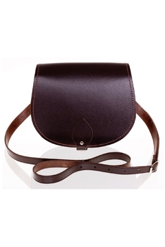 Shoptiques Product: Leather Saddle Bag