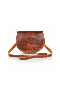 Shoptiques Product: Small Leather Saddlebag
