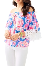 Lilly Pulitzer Zaylee Top - Product Mini Image