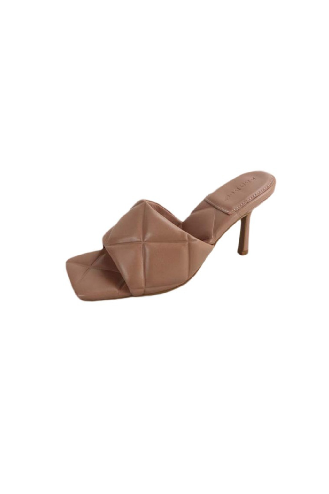 Bamboo Zeal-07 Quilted Heel - Front Cropped Image