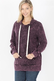 Zeana Outfitters Blackberry Wash Hoodie - Product Mini Image