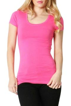 Zeana Outfitters Scoop Neck Tee - Alternate List Image