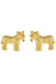 Fornash Zebra Earrings - Product Mini Image