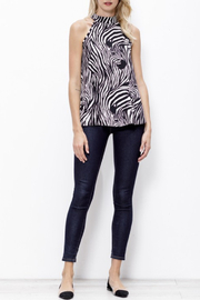 Mittoshop Zebra Halter Top - Product Mini Image