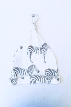 Shoptiques Product: Zebra Knotted Hat