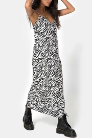 Motel Zebra Maxi Dress - Product Mini Image