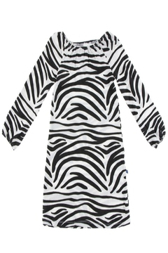 Shoptiques Product: Zebra Peasant Dress
