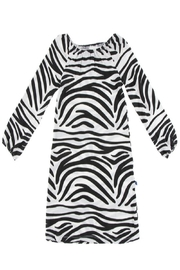 Kickee Pants Zebra Peasant Dress - Front cropped