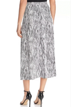 3 Dot Zebra Wrap Skirt - Alternate List Image