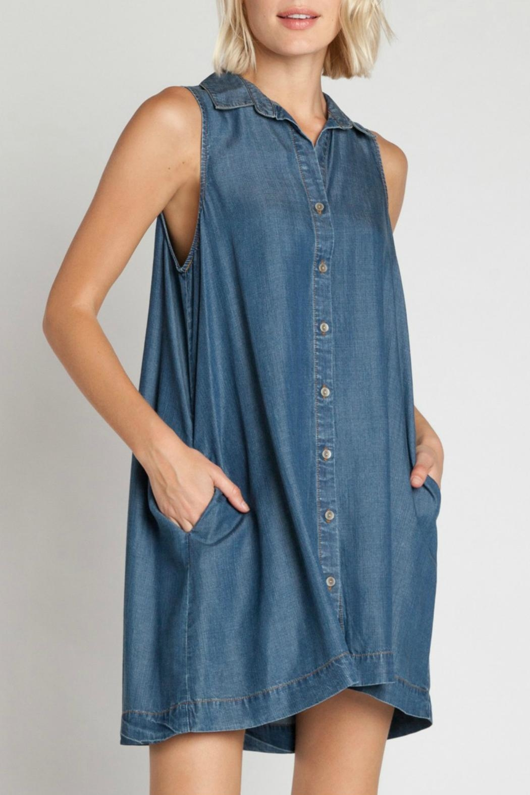 Velvet Heart Zelida Denim Dress - Main Image