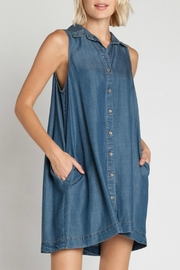 Velvet Heart Zelida Denim Dress - Front cropped