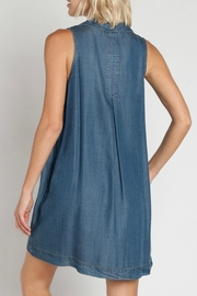 Velvet Heart Zelida Denim Dress - Side cropped