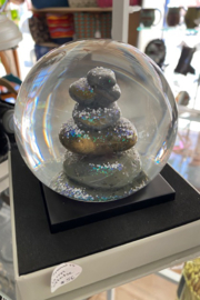 tesoro  Zen Rock Snowglobe - Product Mini Image