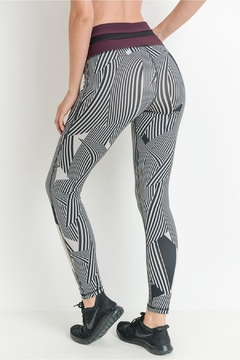 Mono B Zen Stripe Leggins - Alternate List Image