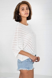 Bishop + Young Zen Sweater - Back cropped