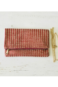 Statement Clutch - WAVED by VIDA VIDA LxWUq