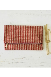Zen Zen Garden Home  Natural Weave Fold-Clutch - Product Mini Image