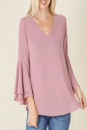 Zenana Bell Sleeved Top - Product Mini Image