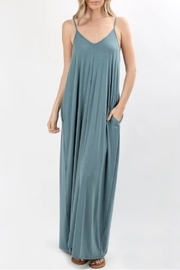 Zenana Blue Gray Maxi - Product Mini Image