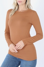 Zenana Camel Essential Tee - Product Mini Image