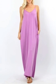 Zenana Dark Mauve Maxi - Product Mini Image
