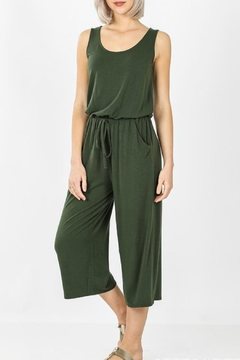 Zenana Dayna Knit Jumpsuit - Product List Image