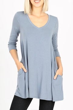 Shoptiques Product: Flared Tunic Top
