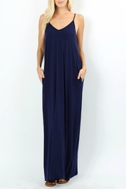 Zenana Gianna Navy Maxi - Product Mini Image