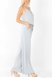 Zenana Jumpsuit With Pockets - Front cropped