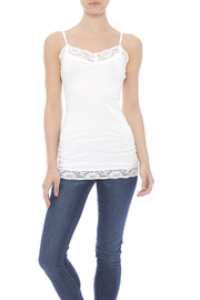 Zenana Longer Lace Camisole - Product Mini Image