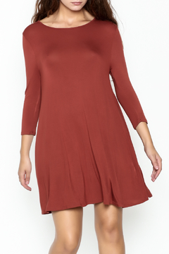 Shoptiques Product: Rust Tunic Dress