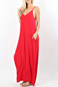 Zenana Ruby Red Maxi - Alternate List Image
