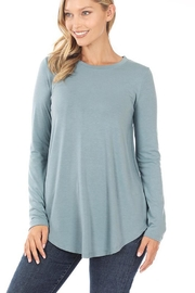 Zenana Soft Flowy Long-Sleeve - Product Mini Image