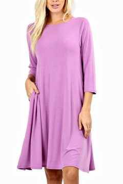 Shoptiques Product: Thea Mauve Dress