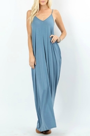 Zenana Titanium Maxi Dress - Product Mini Image