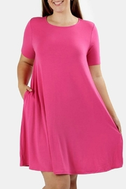 Zenana Tropic Pink Dress - Product Mini Image