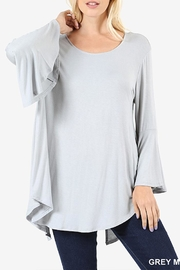 Zenana Outfitters Bell Sleeve Top - Product Mini Image