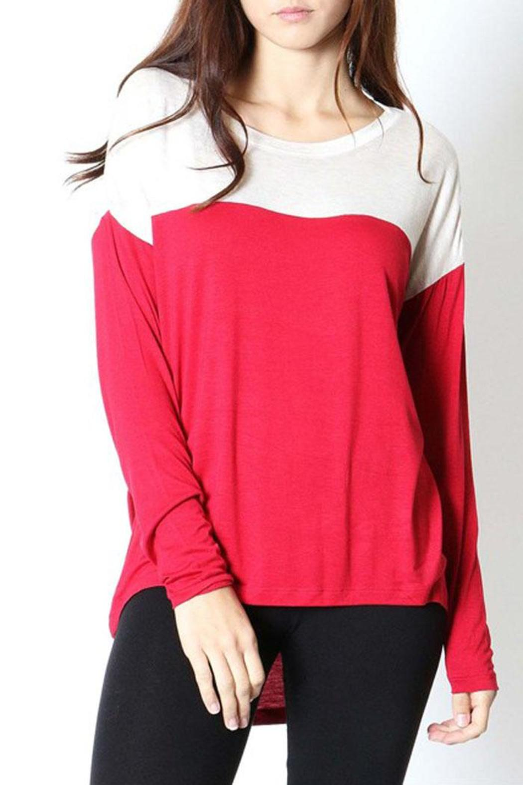 Zenana Outfitters Colorblock Top from Vermont by Avenue A u2014 Shoptiques