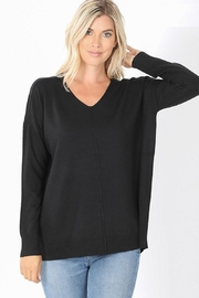 Zenana Outfitters Everyday Softness Sweater - Product Mini Image