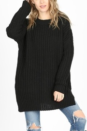 Zenana Outfitters Georgie Sweater Tunic - Product Mini Image