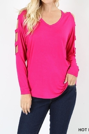 Zenana Outfitters Hot Pink Top - Product Mini Image
