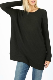 Zenana Outfitters Jannie Thermal Top - Front cropped