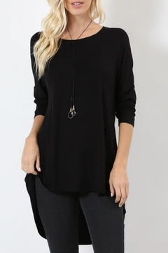 Shoptiques Product: Lindsay Black Tunic