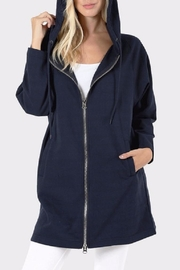 Zenana Outfitters Long Zip Hoodie - Product Mini Image